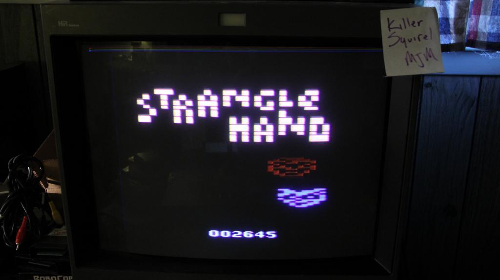 Strangle Hand 2,645 points