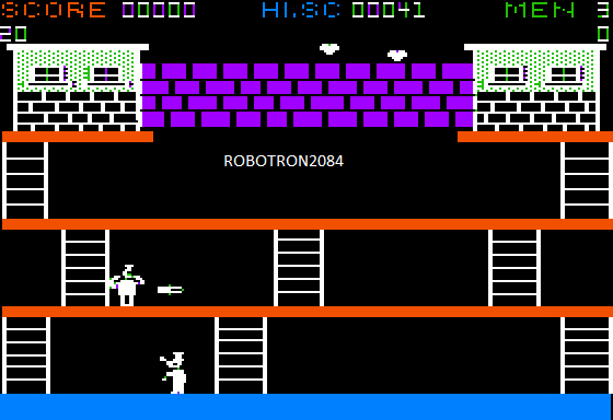 Robotron2084: Popeye (Apple II Emulated) 41 points on 2015-05-31 01:53:03