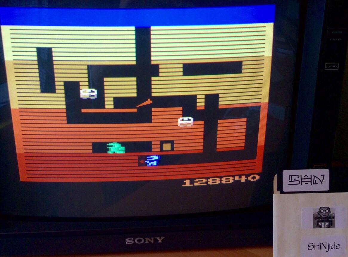SHiNjide: Dig Dug (Atari 2600 Emulated) 128,840 points on 2015-05-31 11:06:41