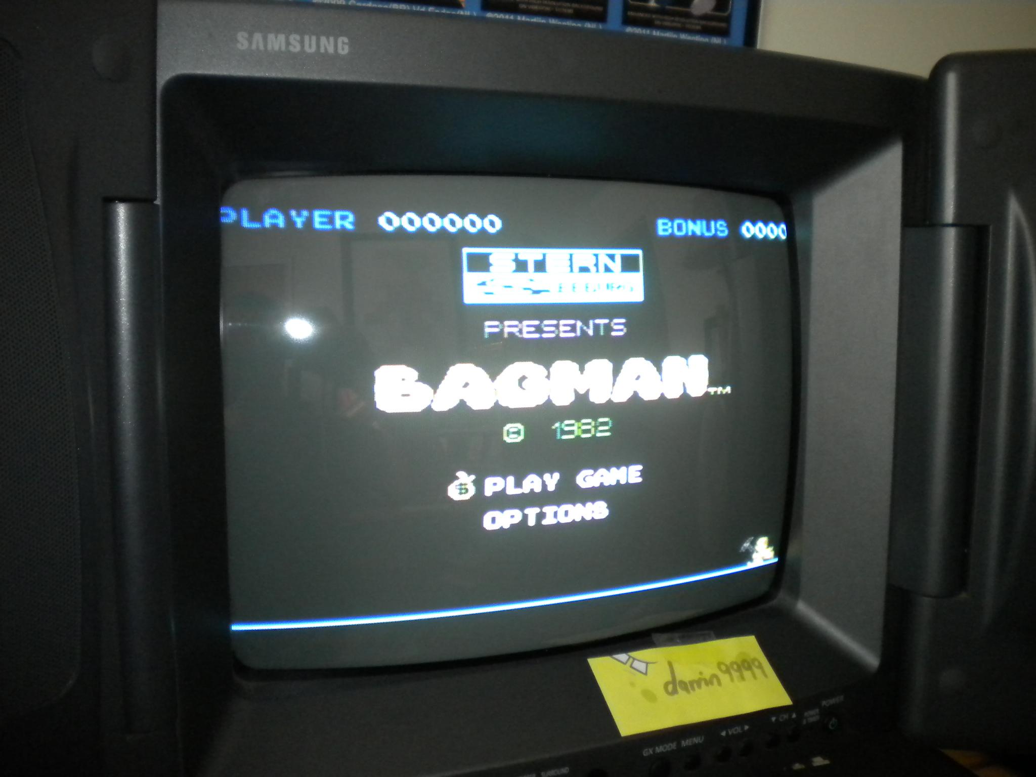 Bagman 61,900 points