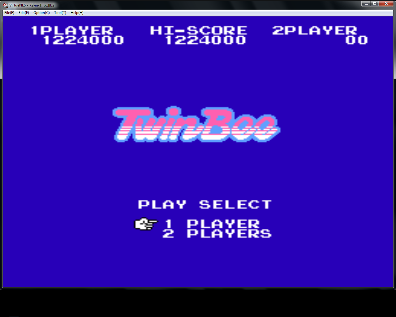 TwinBee 1,224,000 points