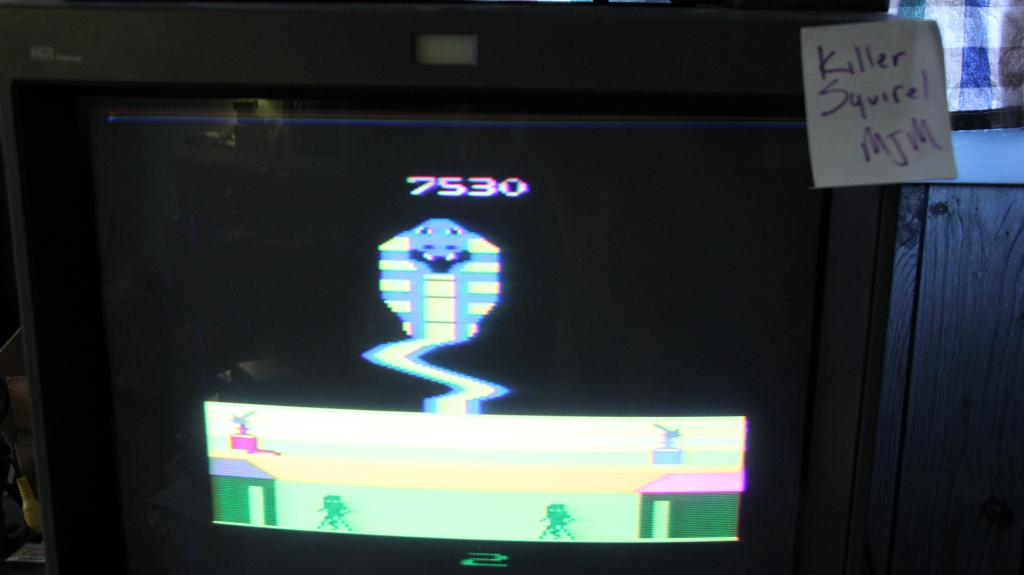 killersquirel: G.I. Joe Cobra Strike (Atari 2600 Expert/A) 7,530 points on 2013-10-29 08:47:27