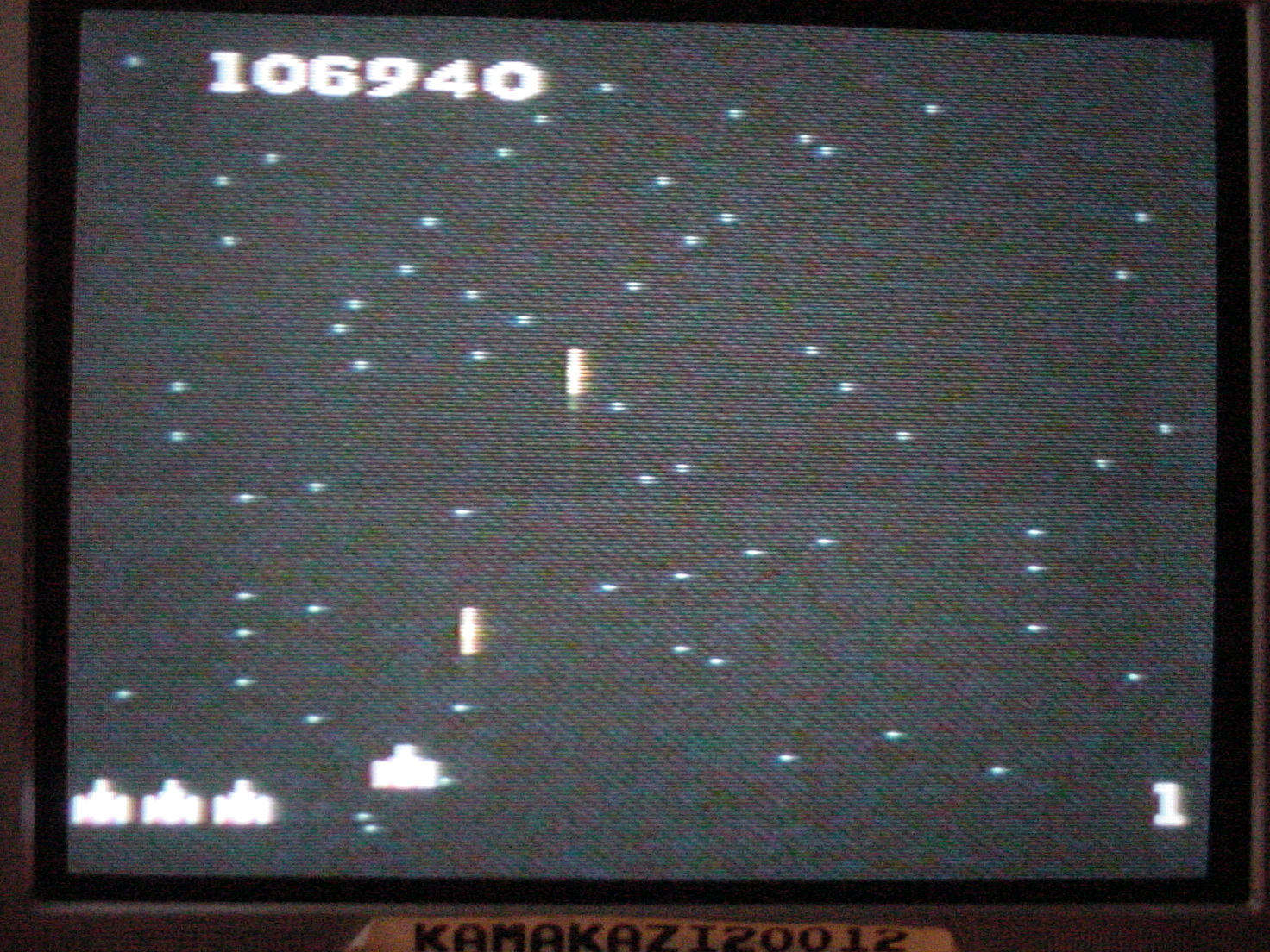 Galaga: Novice 106,940 points