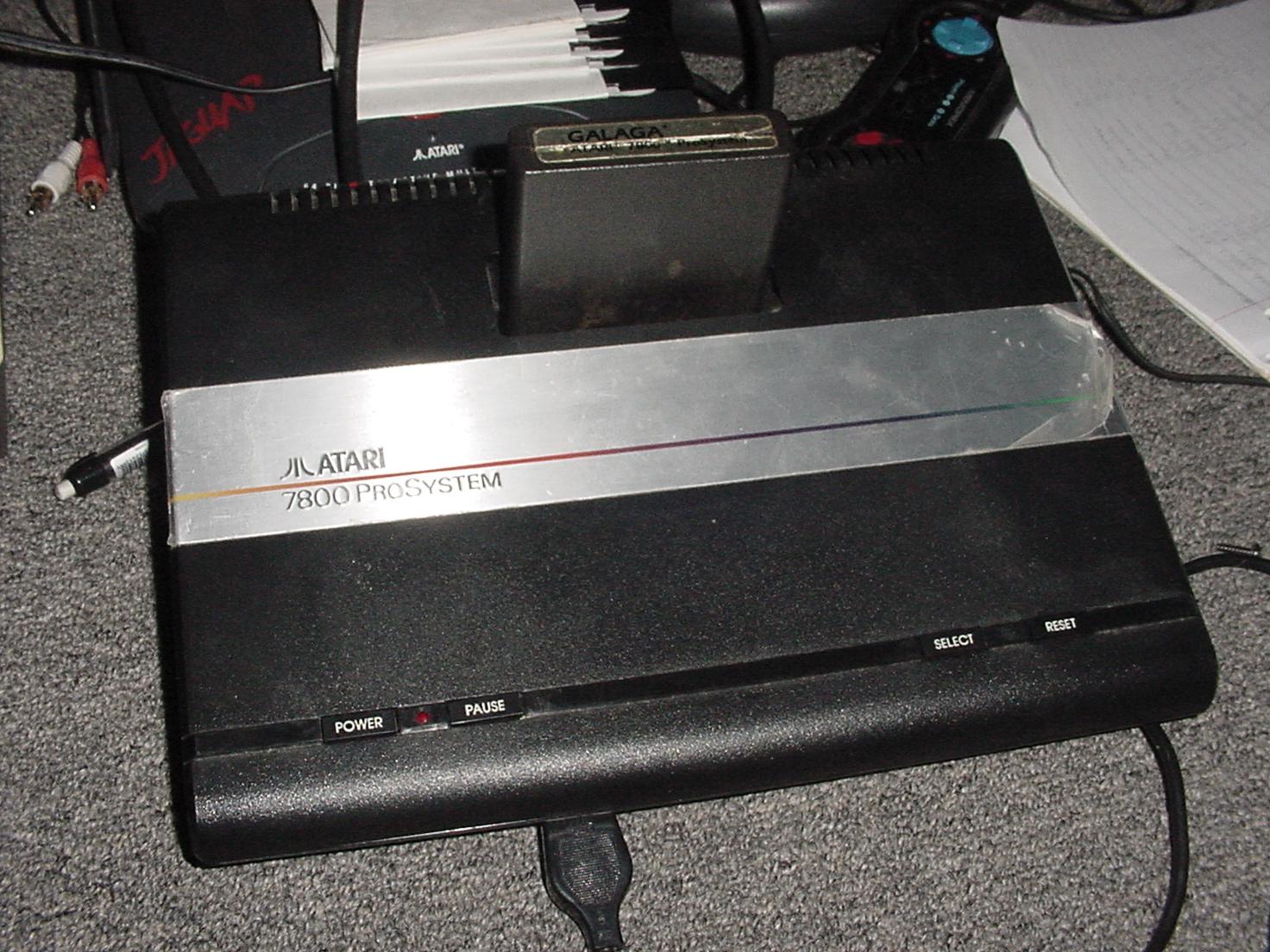 kamakazi20012: Galaga: Novice (Atari 7800) 106,940 points on 2015-06-03 11:17:51