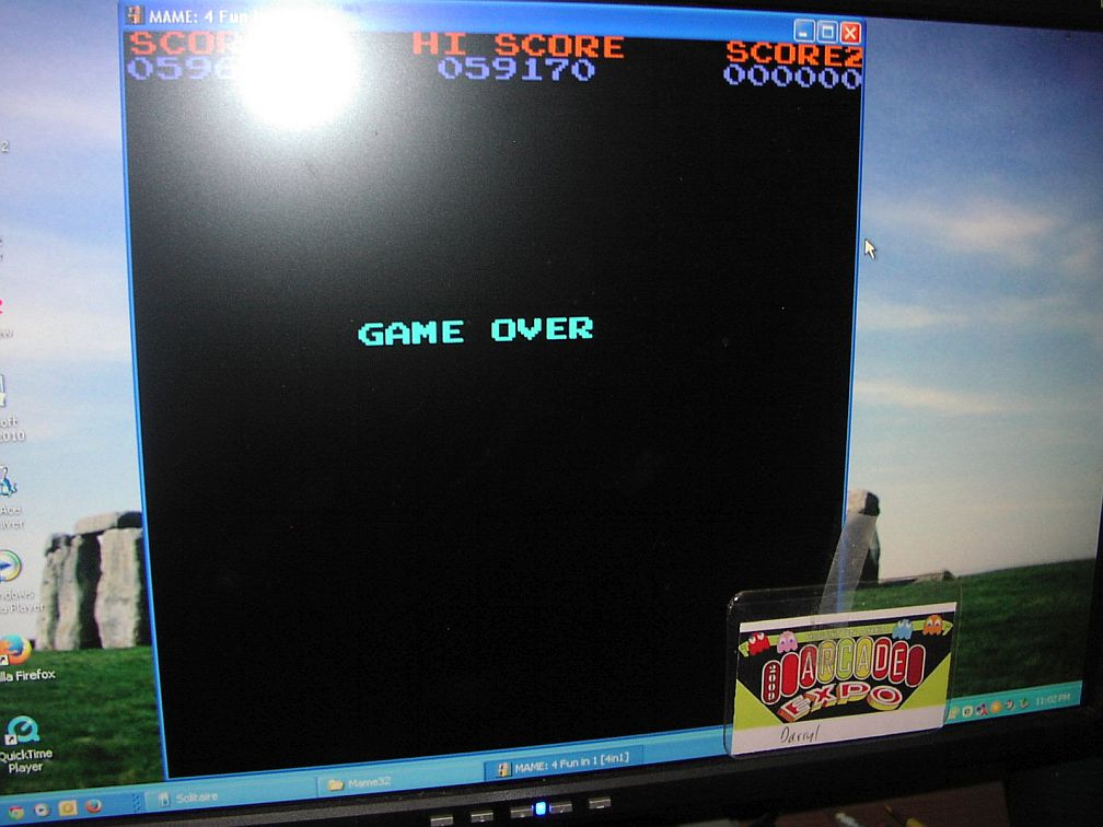 DarrylB: 4 Fun in 1: Galactic Convoy [4in1] (Arcade Emulated / M.A.M.E.) 59,170 points on 2015-06-03 23:08:58