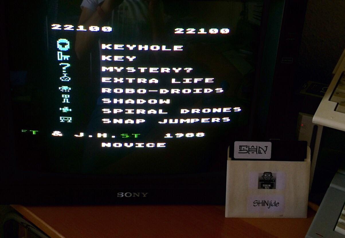 SHiNjide: Shamus (Atari 400/800/XL/XE) 22,100 points on 2015-06-04 11:14:40