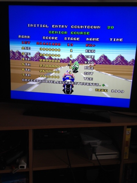 mechafatnick: Super Hang-On (Sega Genesis / MegaDrive) 21,441,480 points on 2015-06-05 00:57:34