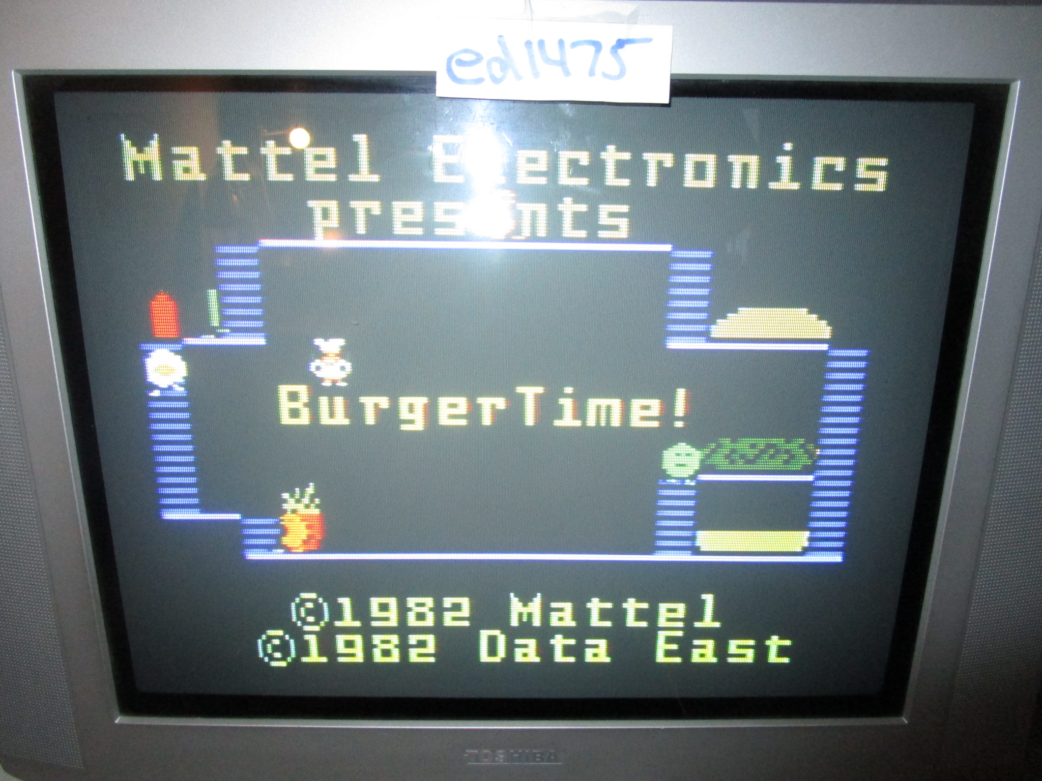 ed1475: BurgerTime (Intellivision) 46,600 points on 2015-06-05 23:34:04