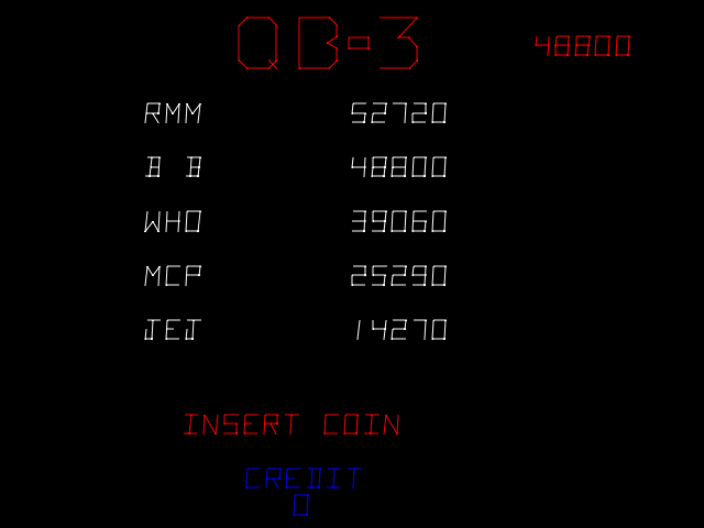 BarryBloso: QB-3 [qb3] (Arcade Emulated / M.A.M.E.) 48,800 points on 2015-06-06 07:40:50