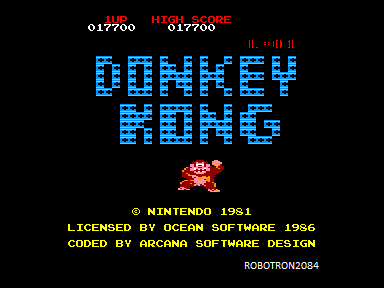 Donkey Kong 17,700 points