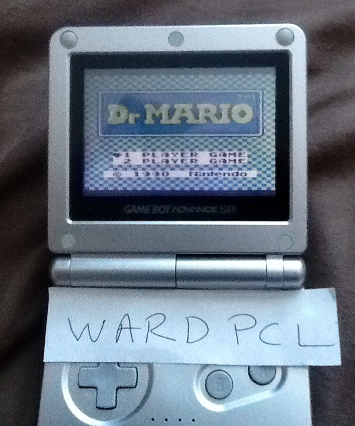 Dr. Mario [High] 13,500 points