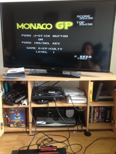 mechafatnick: Monaco GP [Level 1] (Sega SG-1000) 35,436 points on 2015-06-06 08:40:32