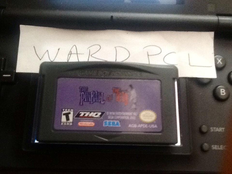 Wardpcl: Pinball Of The Dead: Normal: Cemetery [Fast] (GBA) 84,686,000 points on 2015-06-06 18:55:44