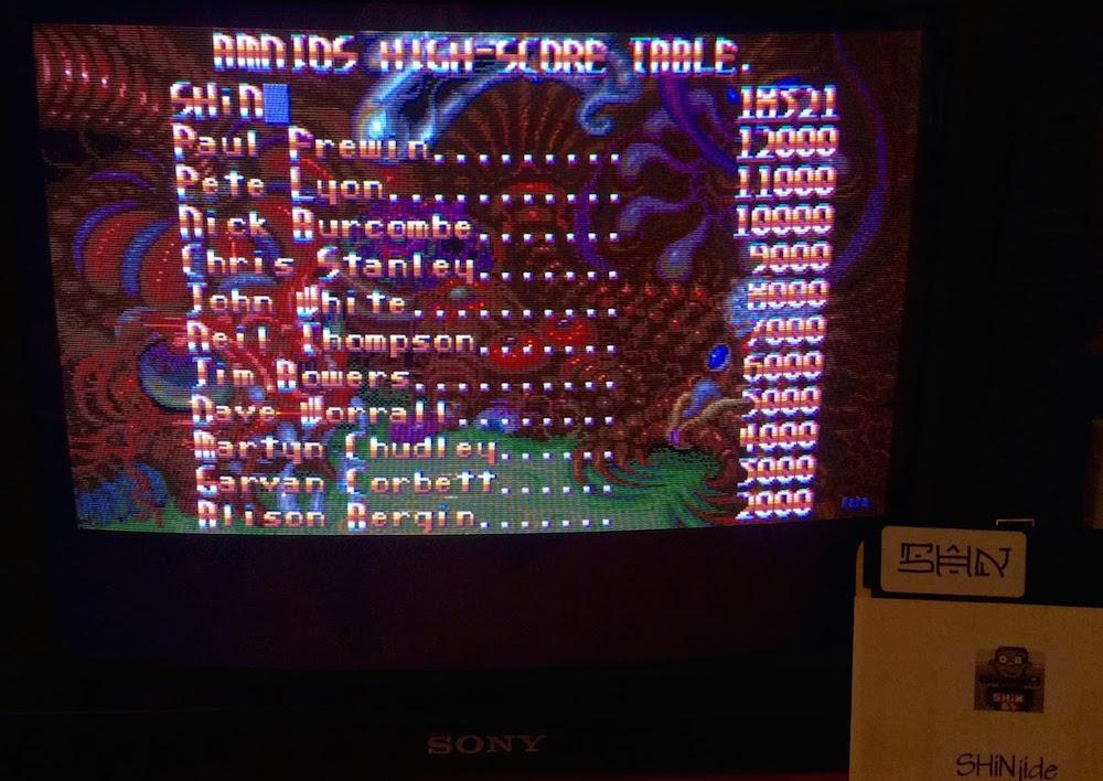 SHiNjide: Amnios (Amiga) 18,321 points on 2015-06-07 04:05:21