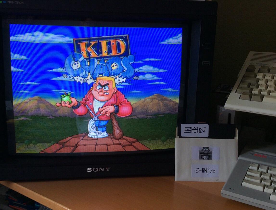 SHiNjide: Kid Chaos (Amiga) 178,090 points on 2015-06-07 04:58:55