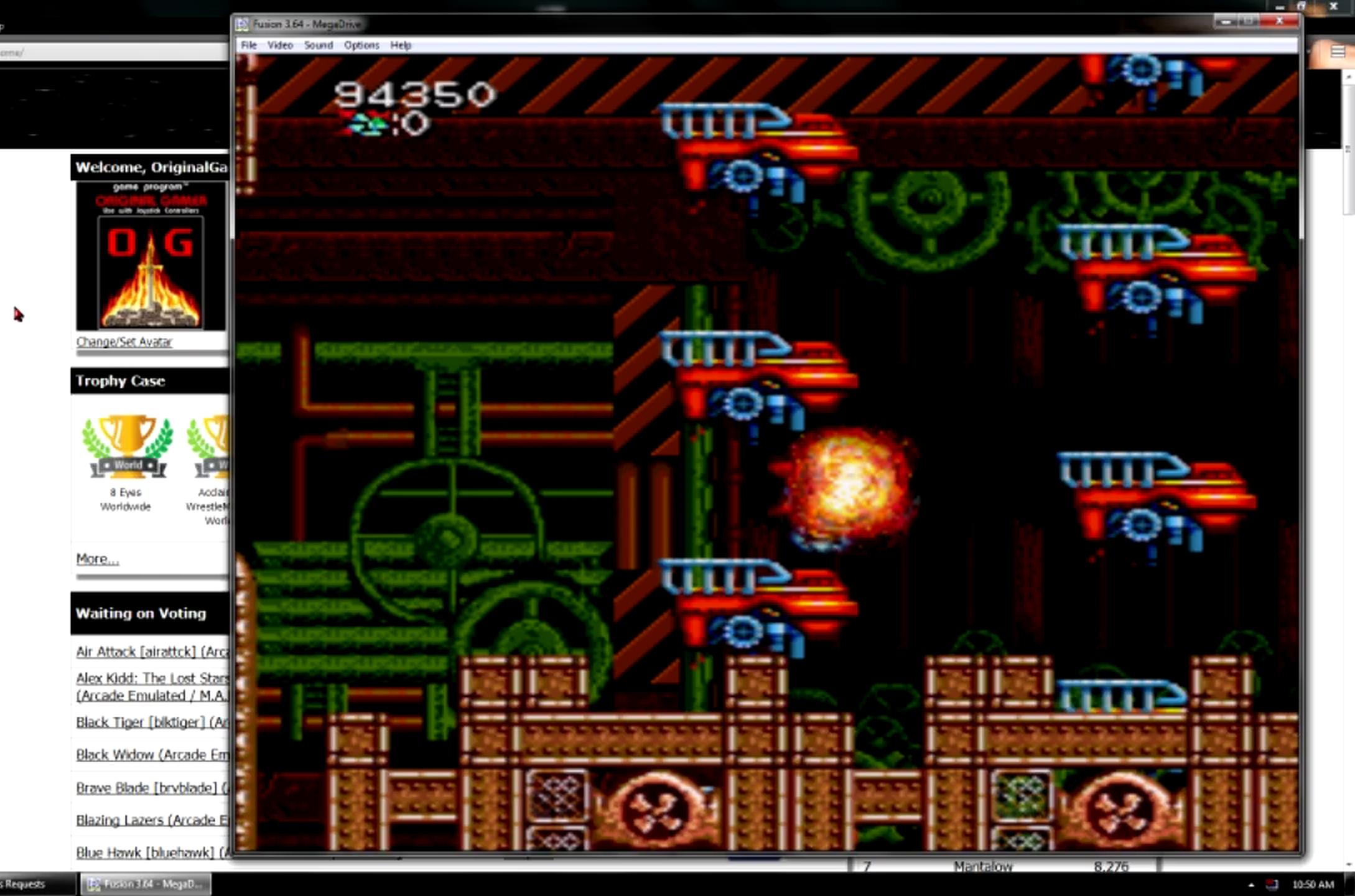 OriginalGamer: Heavy Unit: Mega Drive Special [Normal/3 Lives/Rapid Off] (Sega Genesis / MegaDrive Emulated) 94,350 points on 2015-06-08 23:26:49