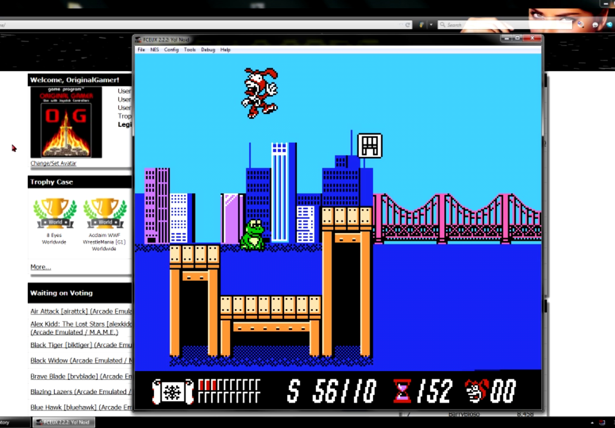 OriginalGamer: Yo! Noid (NES/Famicom Emulated) 56,110 points on 2015-06-08 23:28:19