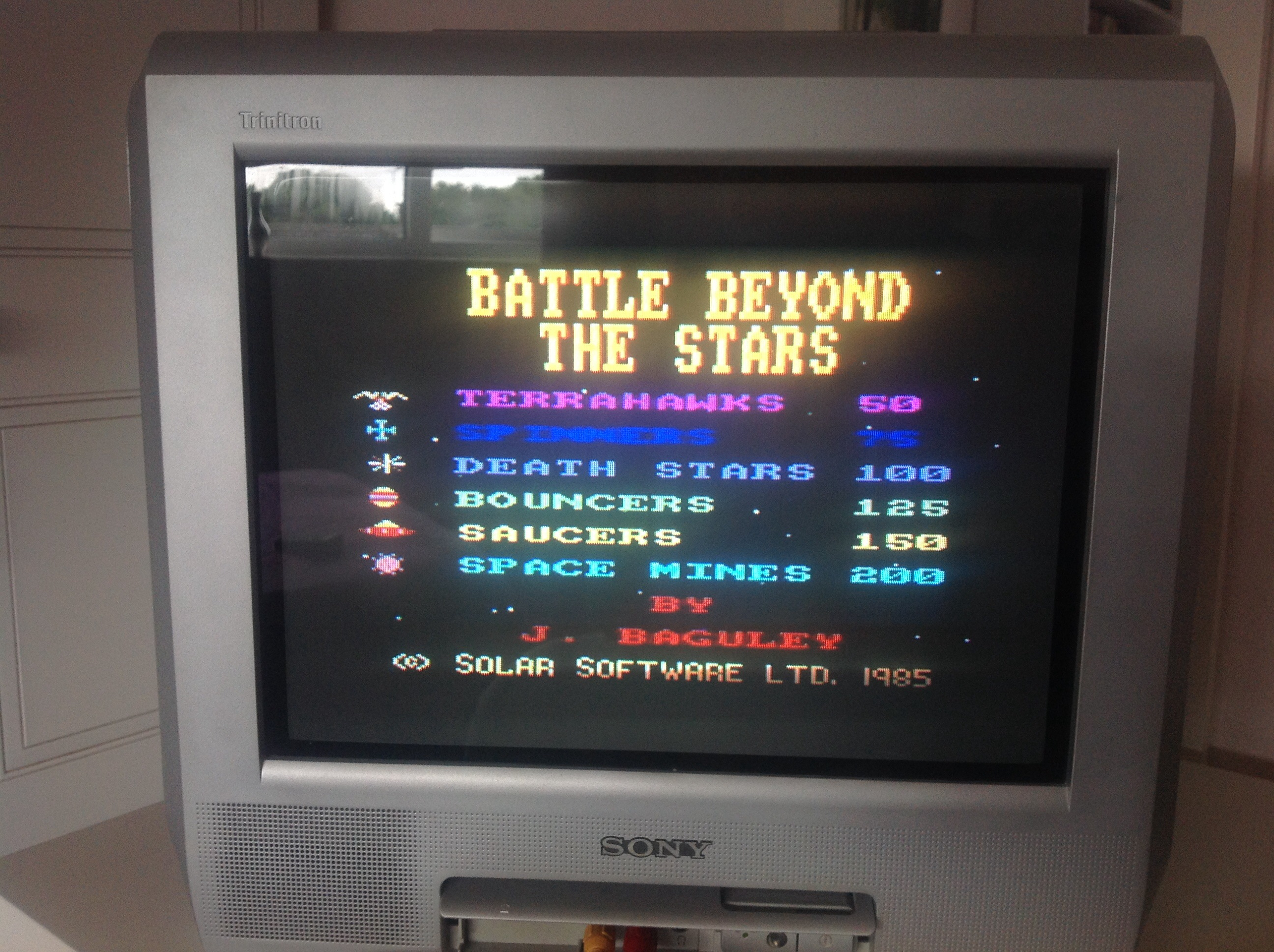 CoCoForest: Battle Beyond The Stars [Level 1 Start] (Amstrad CPC) 7,350 points on 2015-06-09 06:14:11