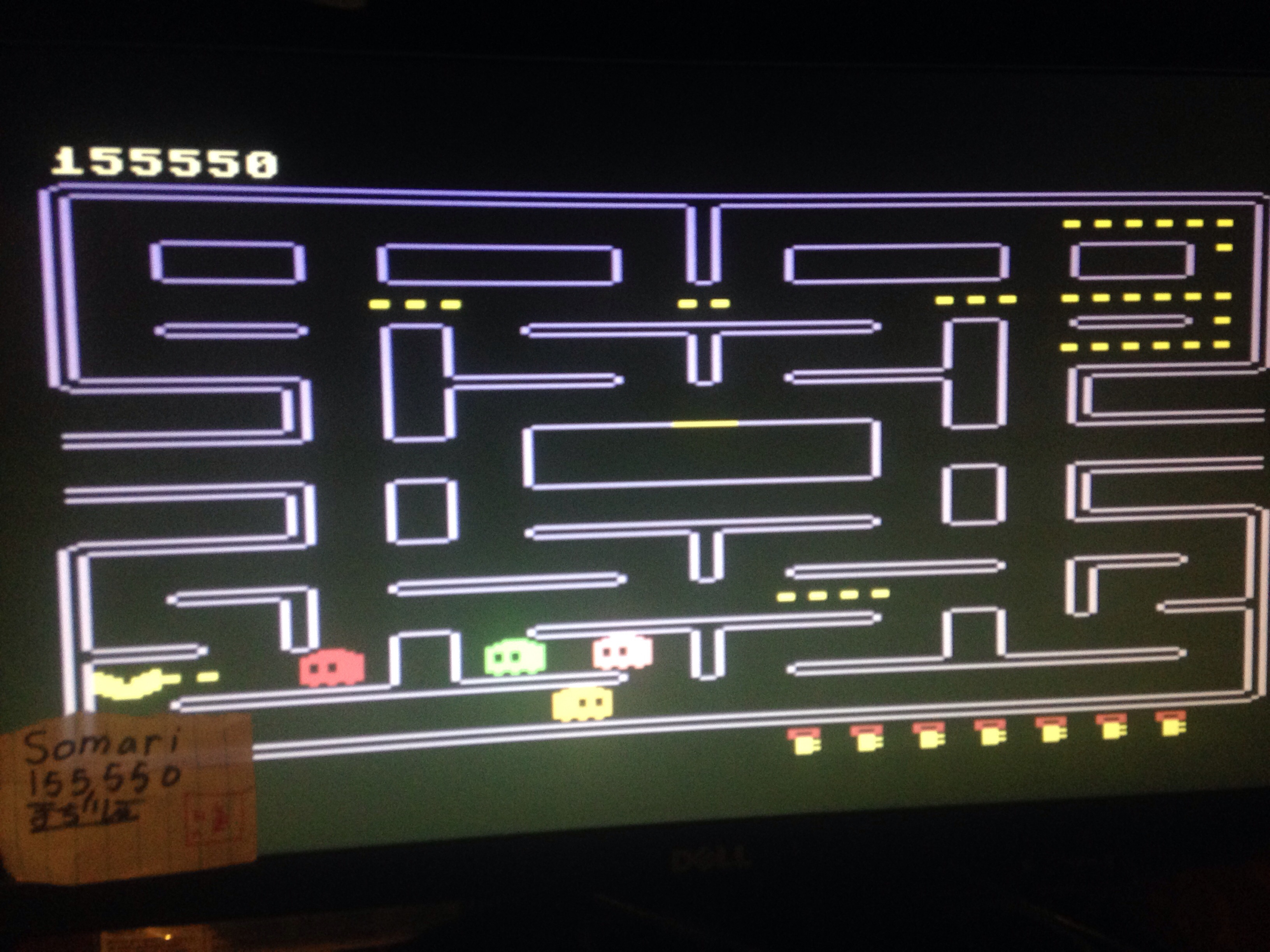 Somari: Pac-Man (Commodore 64 Emulated) 155,550 points on 2015-06-09 17:27:23