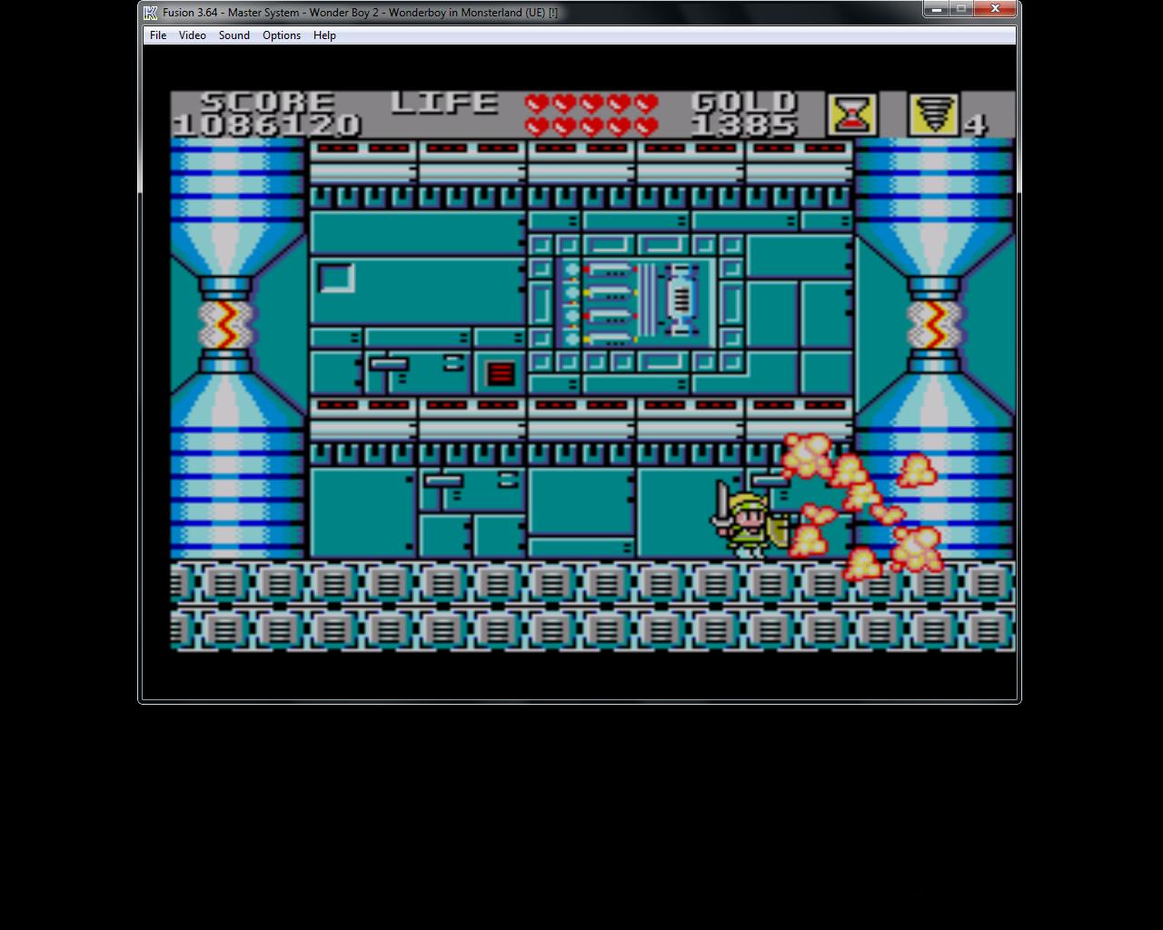 bubufubu: Wonder Boy in Monster Land (Sega Master System Emulated) 1,227,820 points on 2015-06-10 14:27:08
