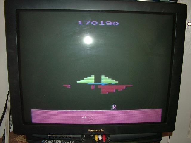 AtariPlayer: Phoenix (Atari 2600 Novice/B) 170,190 points on 2013-10-30 23:47:17