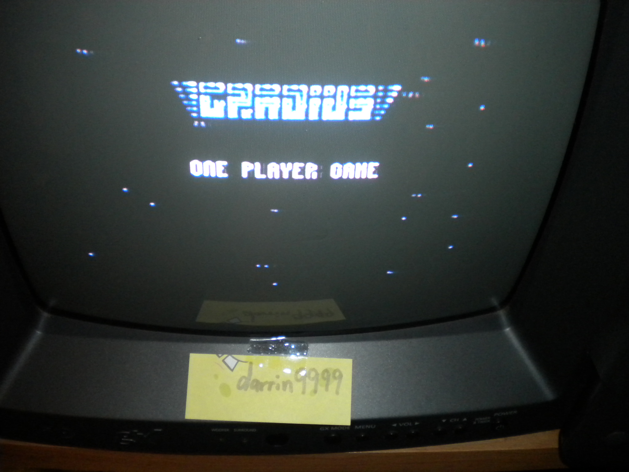 Gradius 28,100 points