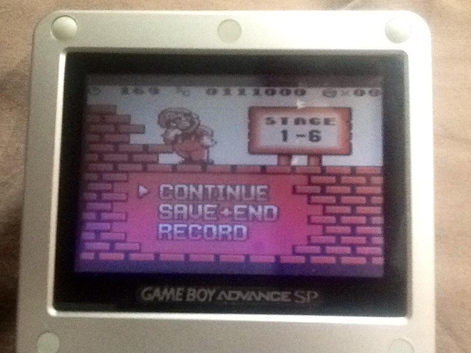 Wardpcl: Donkey Kong (Game Boy) 111,000 points on 2015-06-14 13:36:10