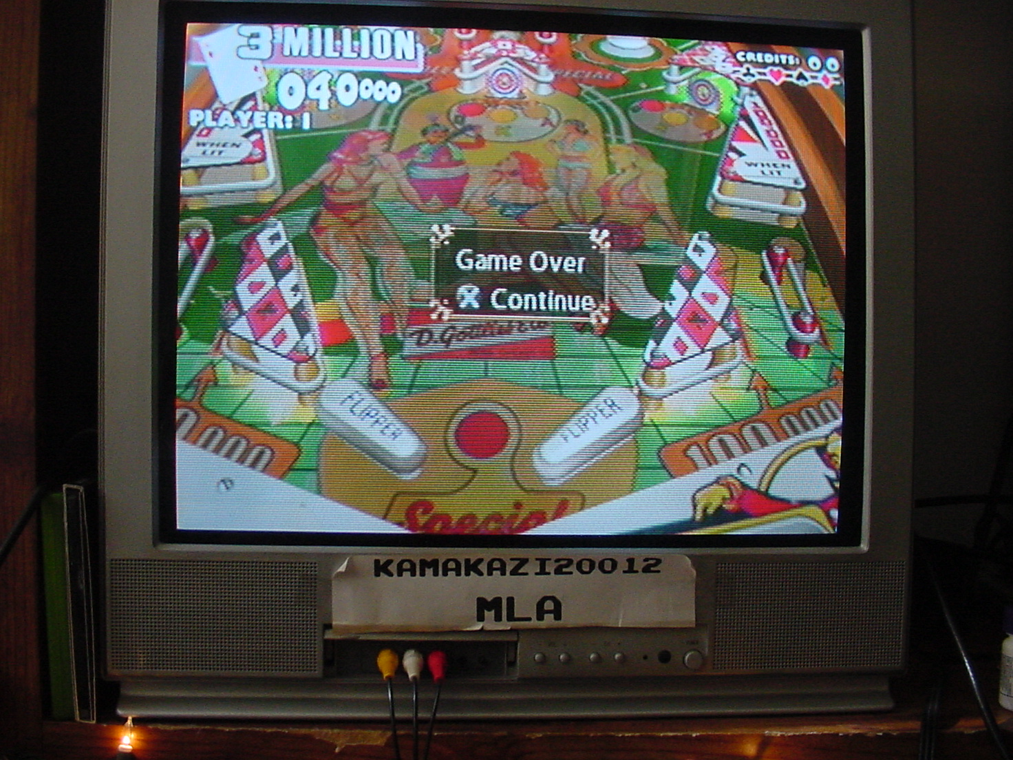 Pinball Hall of Fame: The Gottlieb Collection: Ace High [3 Balls] 3,040,000 points