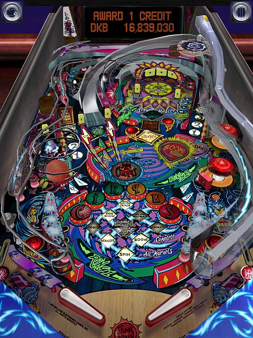 Pinball Arcade: Circus Voltaire 16,839,030 points