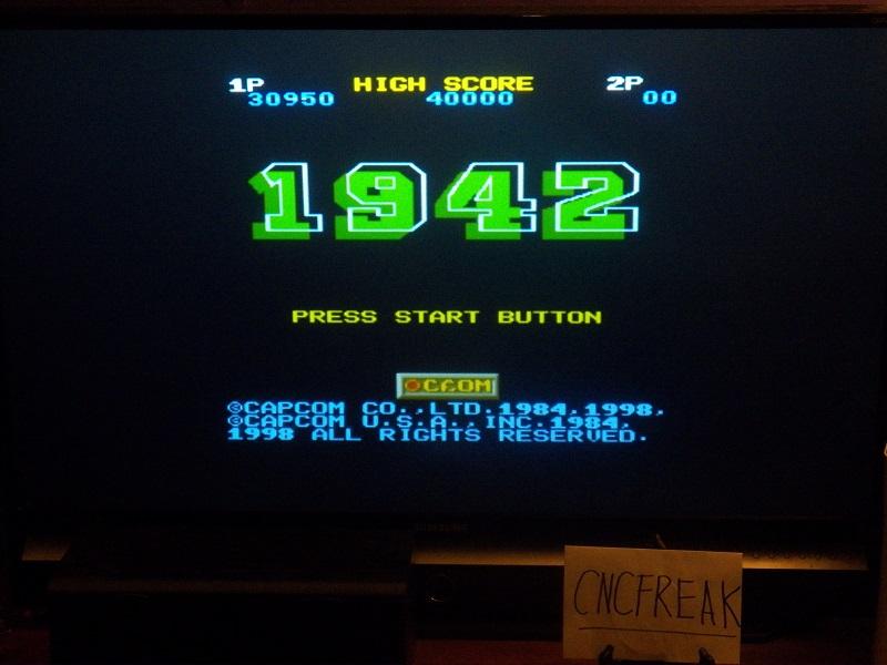 Capcom Classics Vol 1: 1942 30,950 points