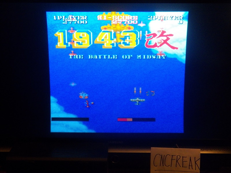 Capcom Classics Vol 1: 1943 Kai 27,700 points