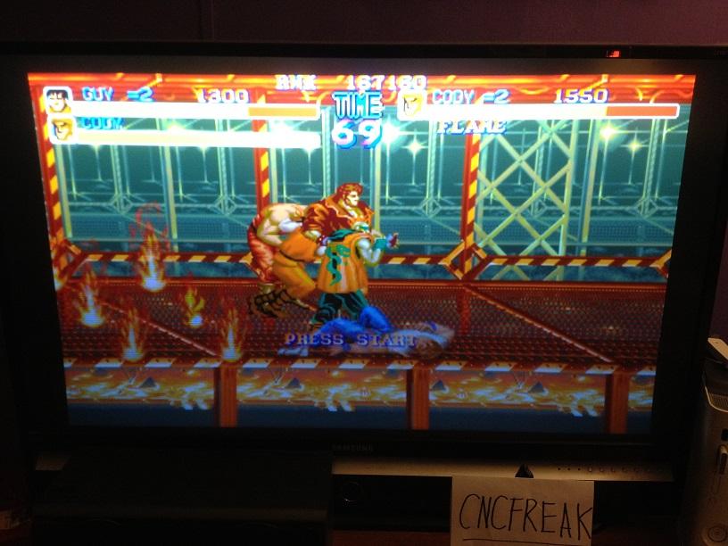 Capcom Classics Vol 1: Final Fight 167,160 points