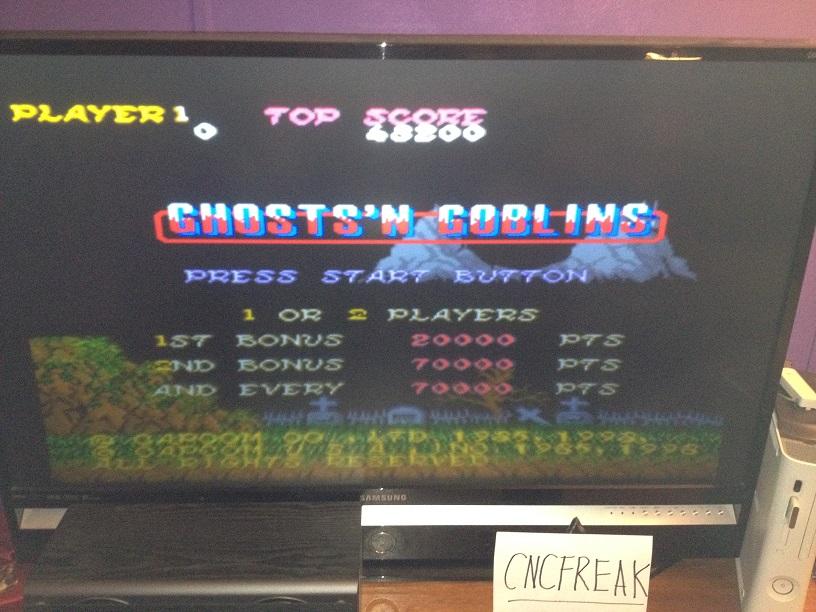 Capcom Classics Vol 1: Ghosts N Goblins 48,200 points