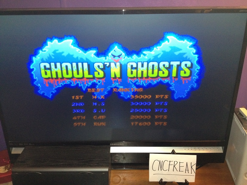 Capcom Classics Vol 1: Ghouls N Ghosts 17,600 points