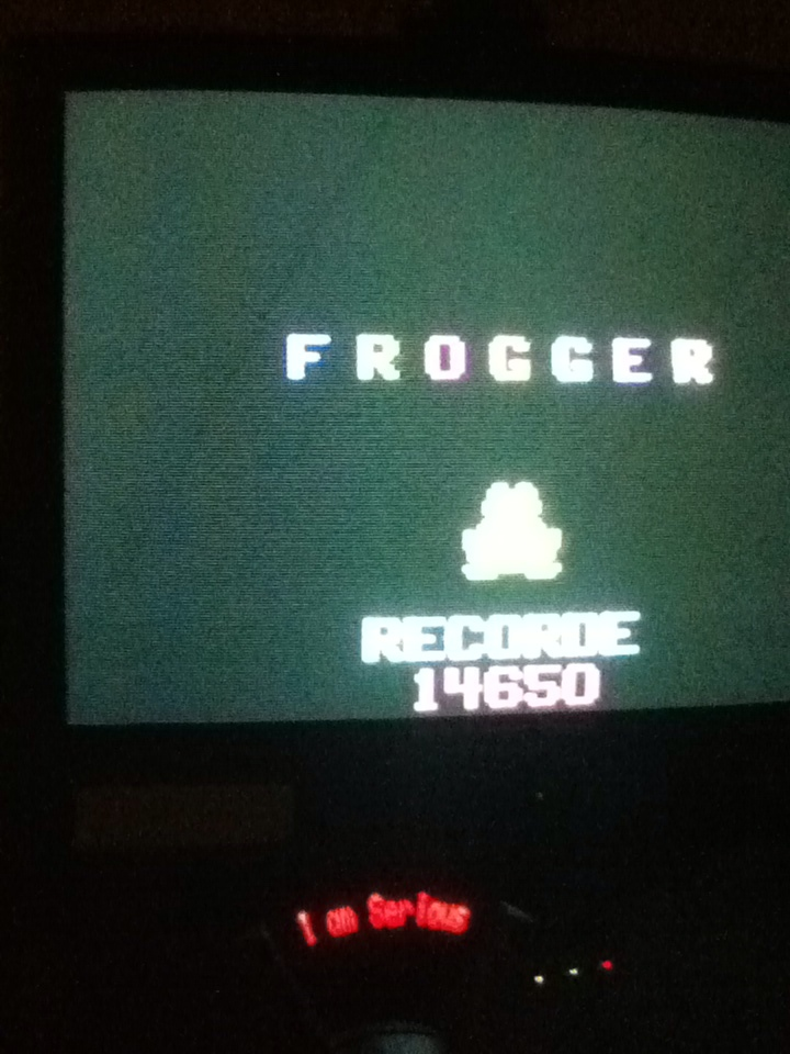 Frogger 14,650 points