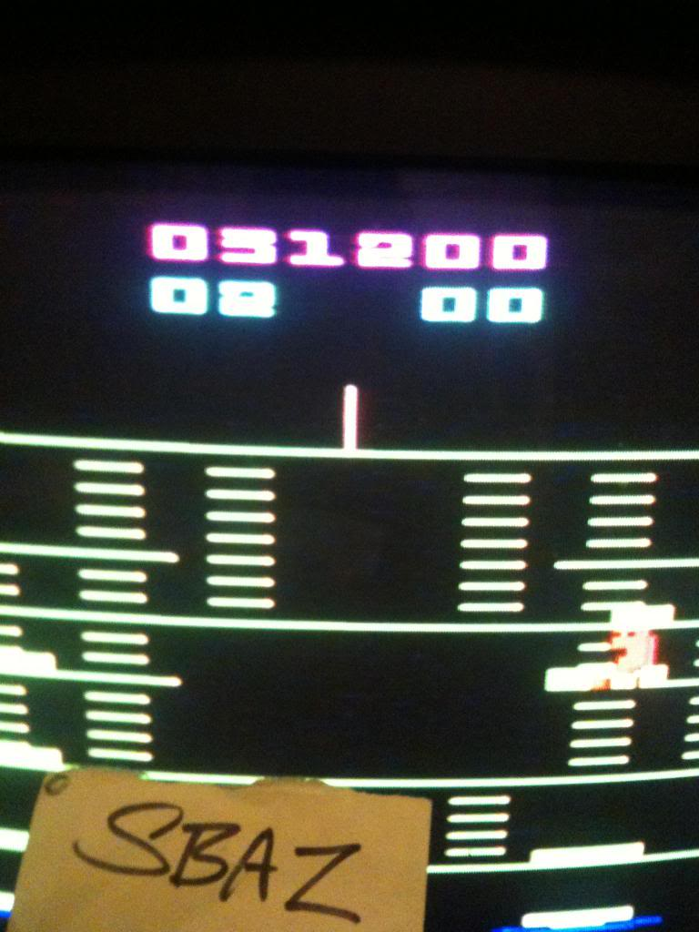 BurgerTime 31,200 points