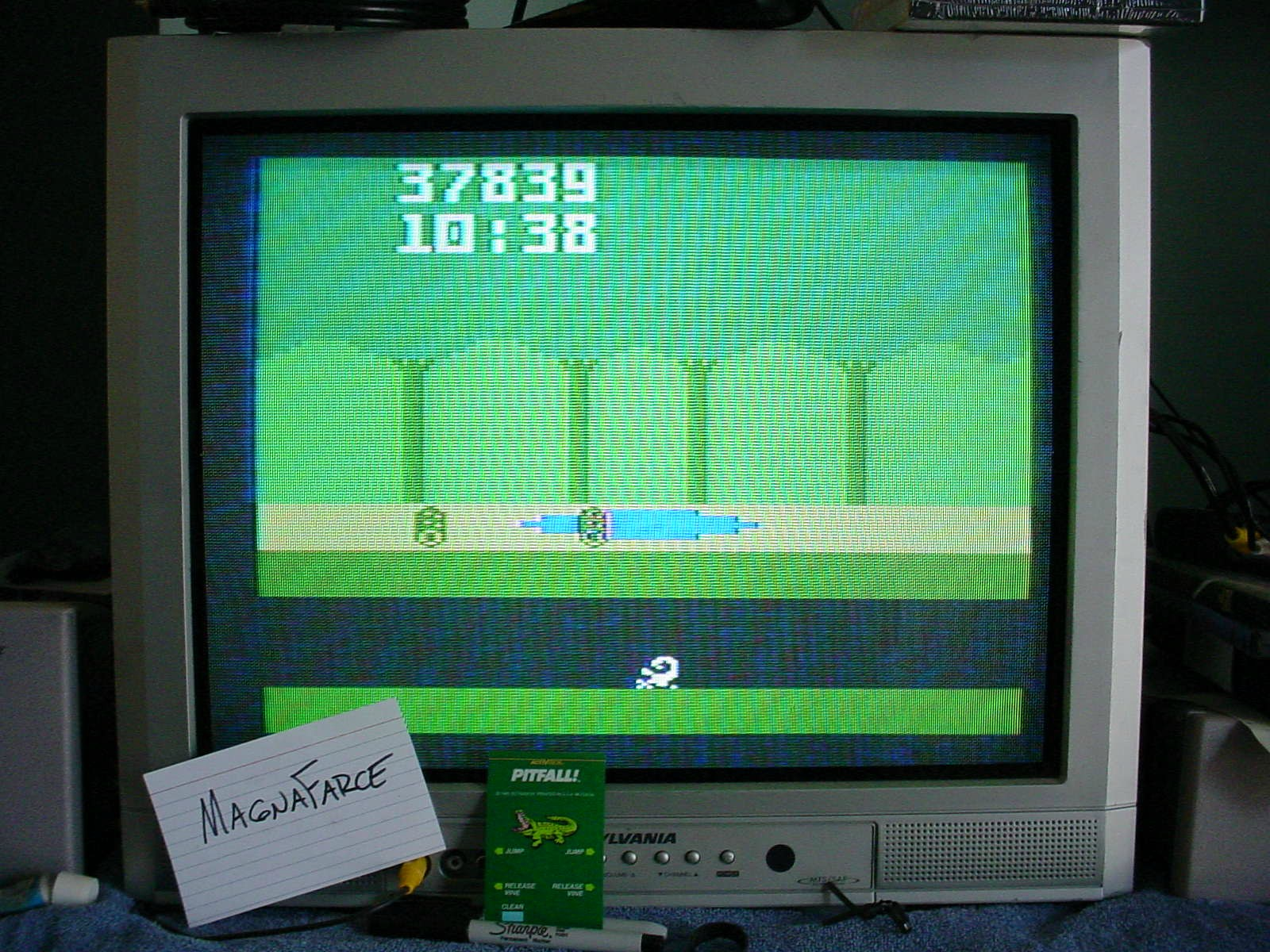 Pitfall 37,839 points
