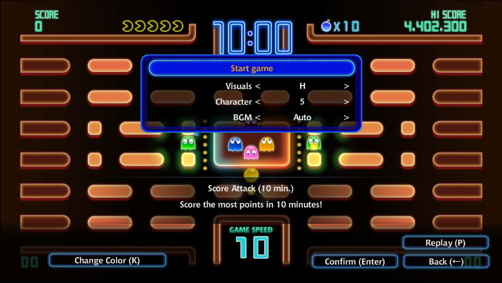 Pac-Man Championship Edition DX+ 4,402,300 points