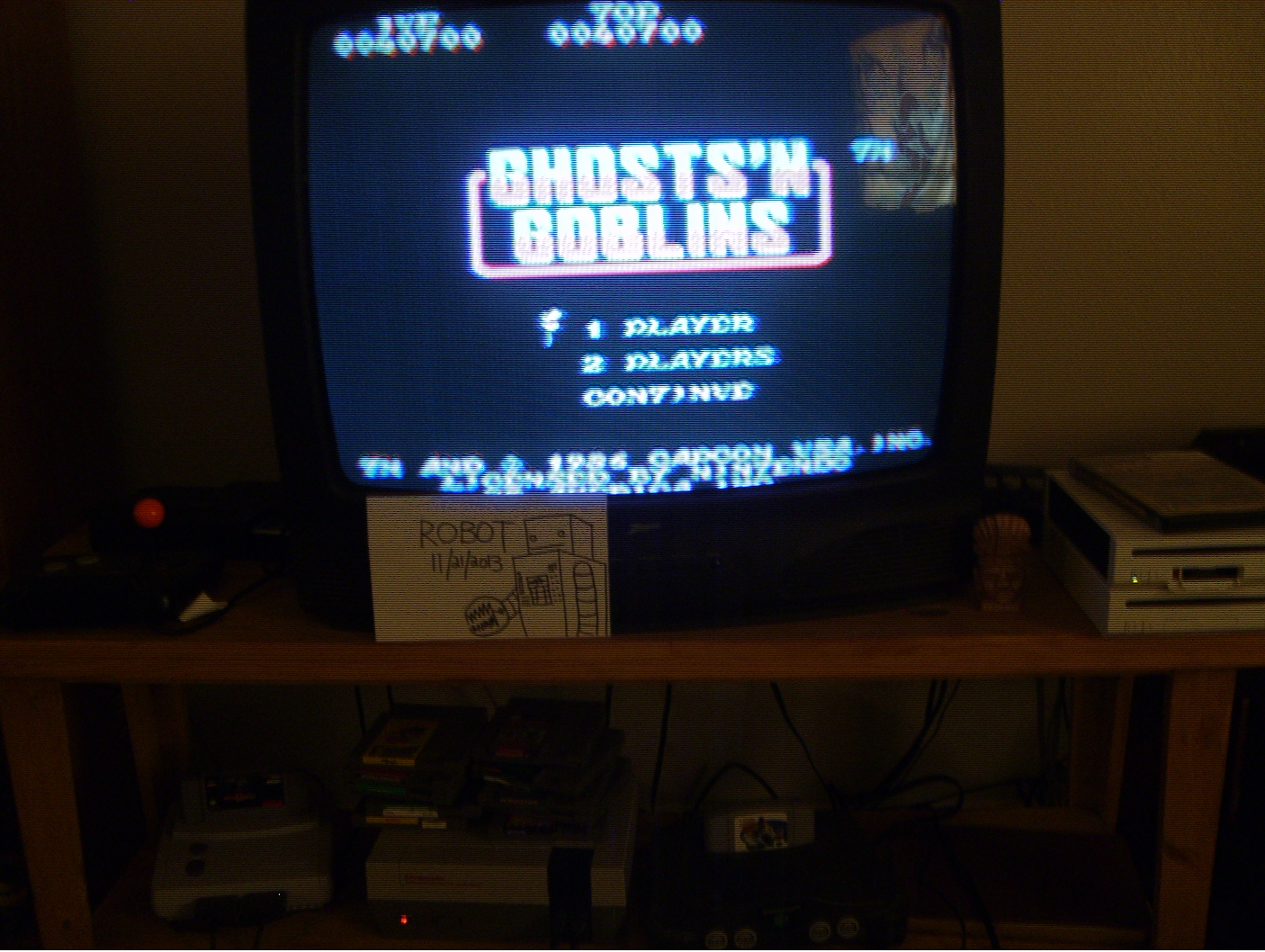 Ghosts N Goblins 40,700 points