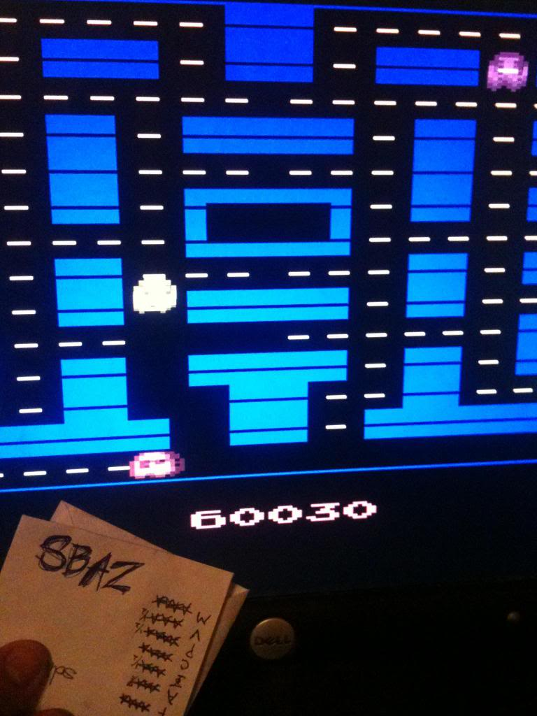 Pac-Man Arcade 60,030 points