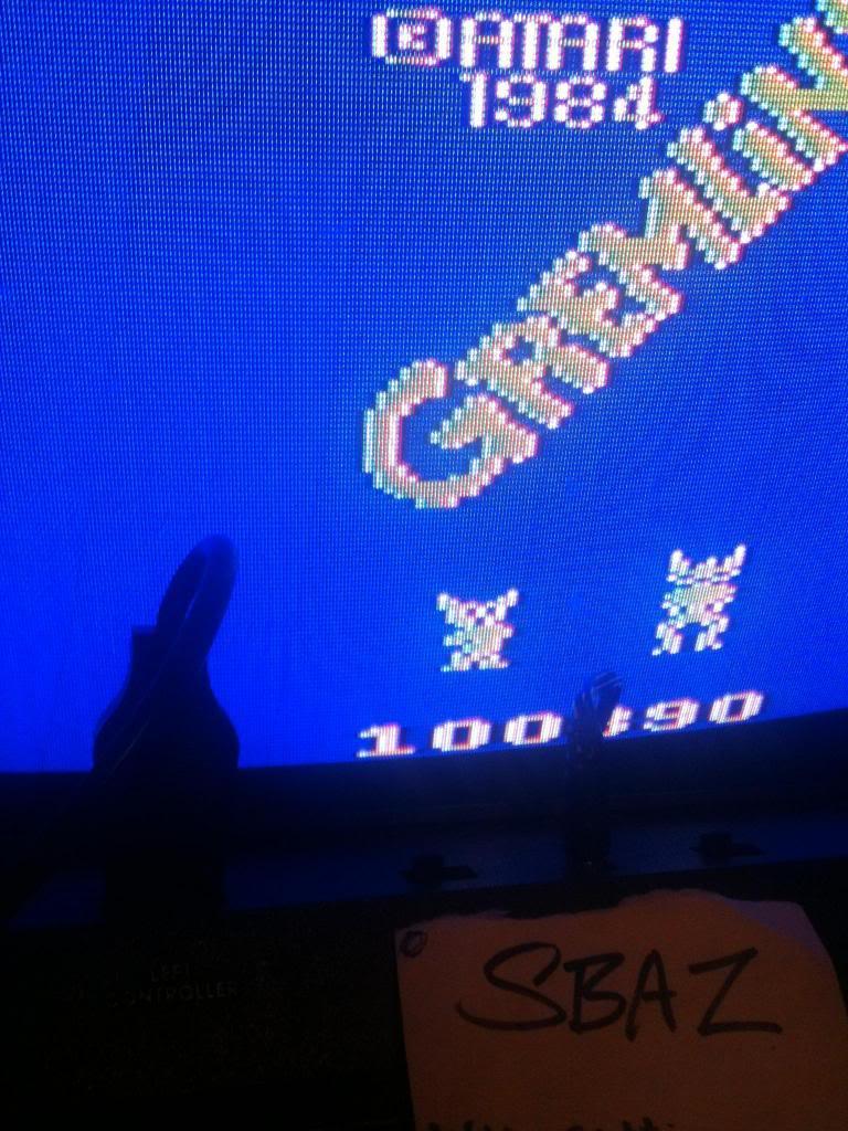 Gremlins 100,390 points