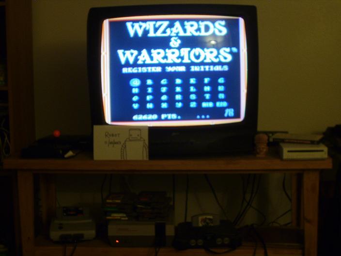 Wizards & Warriors 62,620 points