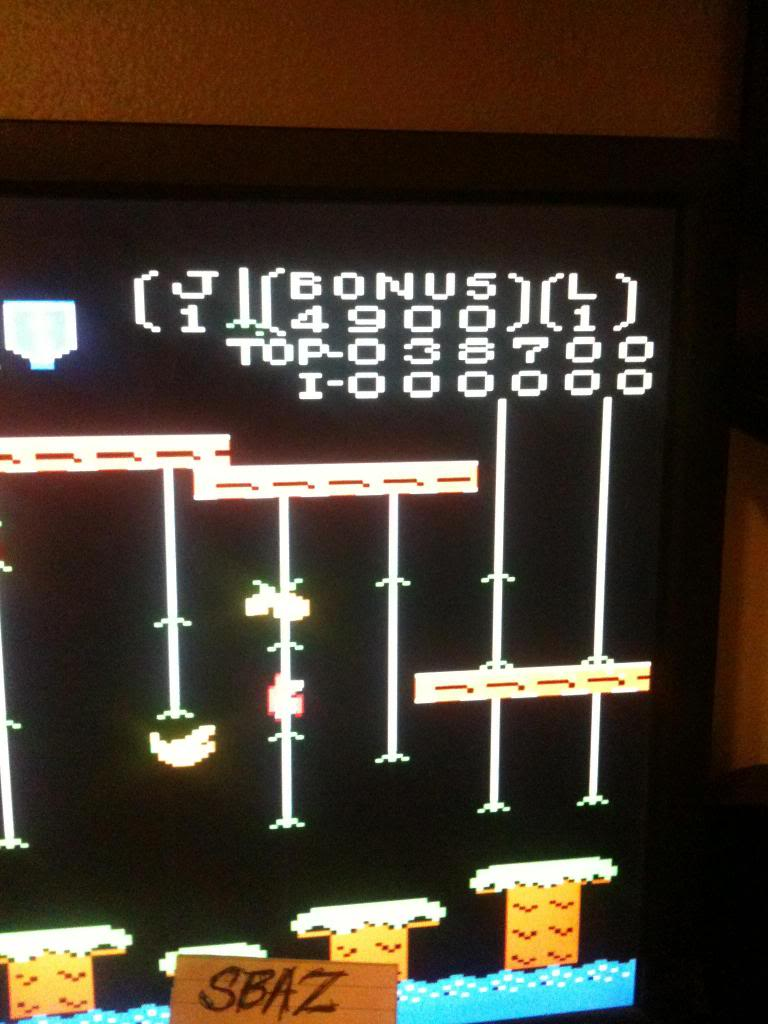 Donkey Kong Jr: Standard 38,700 points