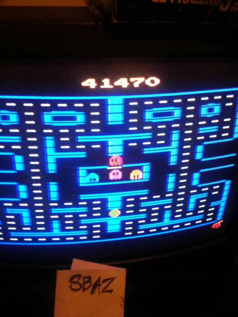 Pac-Man 4K 41,470 points