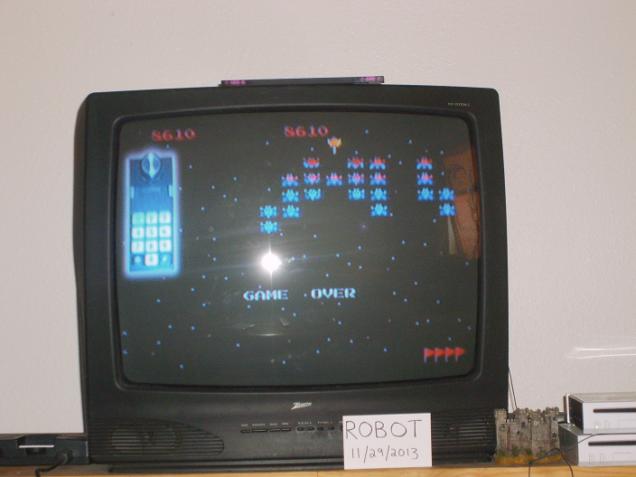 Galaxian: Novice 8,610 points
