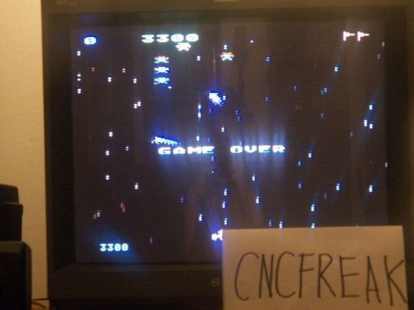 Galaxian: Skill Level 1 3,300 points