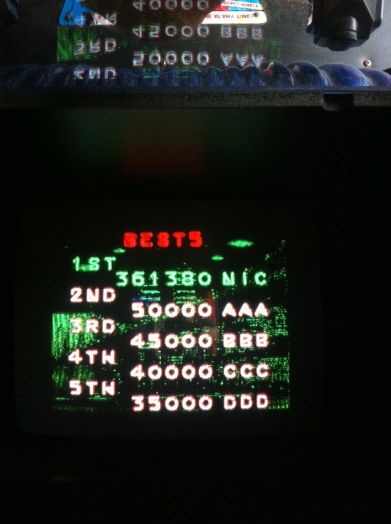 Nickboerstra: Space Gun (Arcade) 361,380 points on 2013-12-03 09:48:00
