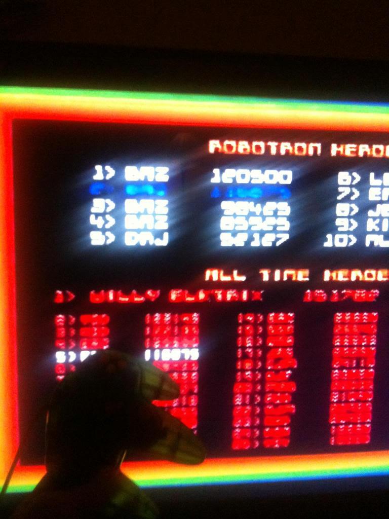 Robotron 64 120,500 points