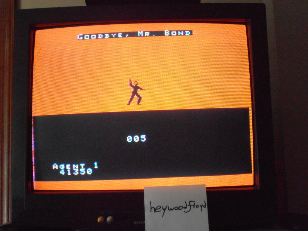 heywoodfloyd: James Bond 007: Beginner (Colecovision) 41,350 points on 2013-09-17 11:30:28