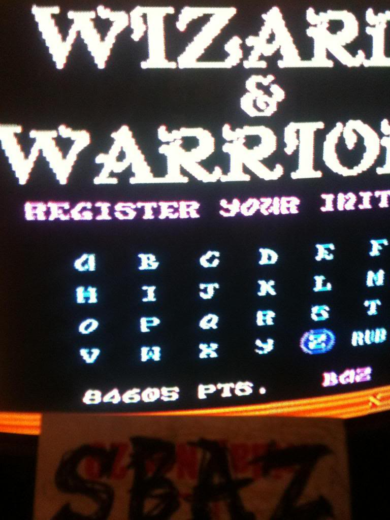 Wizards & Warriors 84,605 points